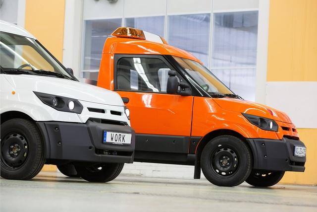 Elektro-Transporter - Streetscooter nun beim Ford-Transit-Händler