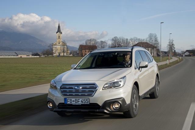 Subaru Outback - Mehr Ausstattung zum Modelljahreswechsel