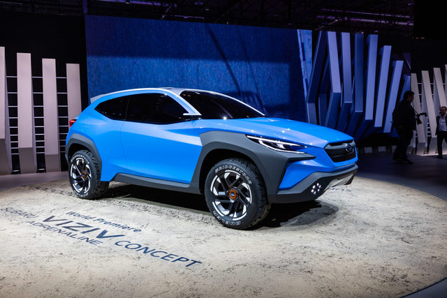 Subaru VIZIV Adrenaline Concept - Dick aufgetragen