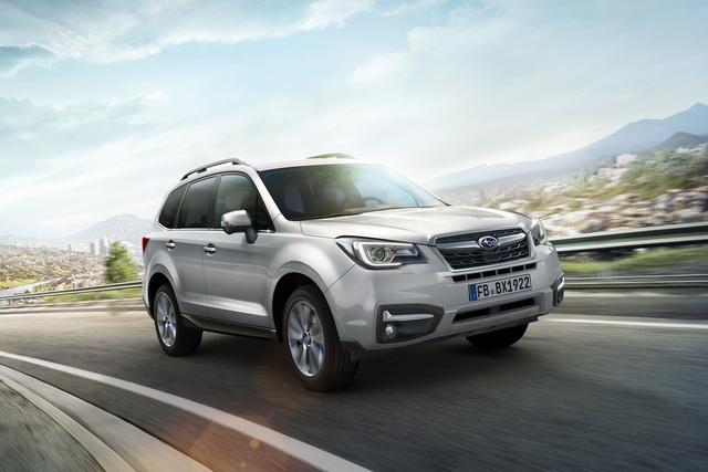 Subaru Forester Modelljahr 2019 - Mehr Extras für die Basis