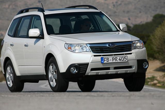 Subaru Forester mit starkem Benziner