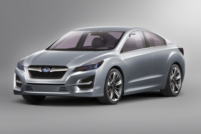 Subaru Impreza Concept - Jetzt mit Familiengesicht