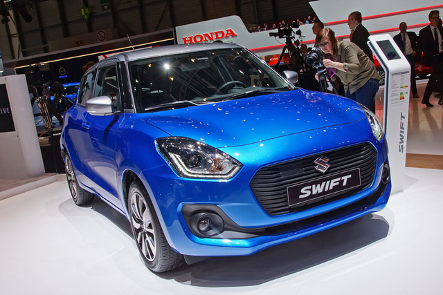 Suzuki Swift  - Schwer auf Diät