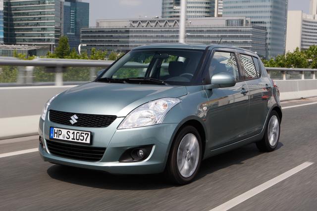 Suzuki Swift Diesel - Sparen an der Ampel