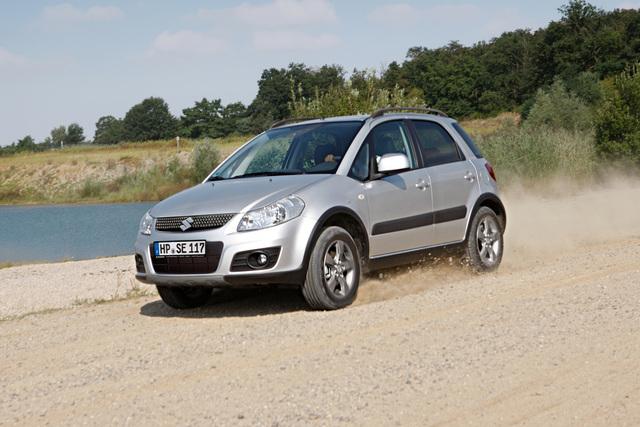 Suzuki SX4 limited - Crossover mit Kundenvorteil