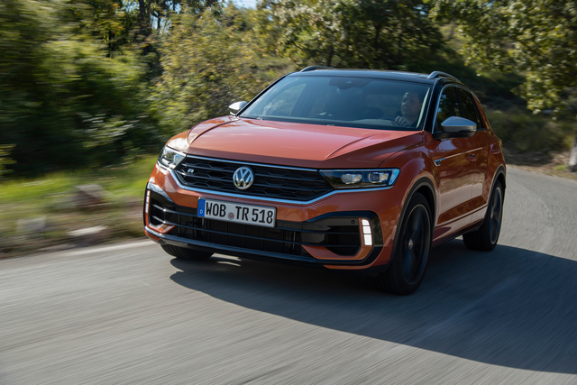VW T-Roc R - Kompakt-SUV rockt die linke Spur