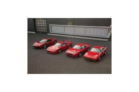 Ferrari GTB Turbo, 288, F40,488: Turbo-Ferraris imVergleich