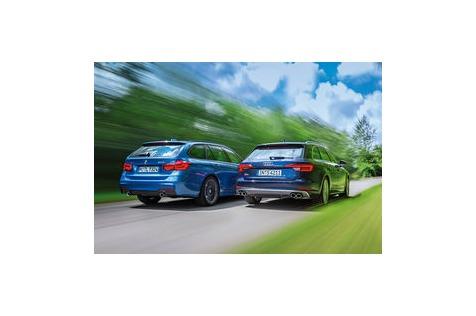 Audi S4 Avant vs. BMW 340iTouring: Sportliche Power-Kombis imTest