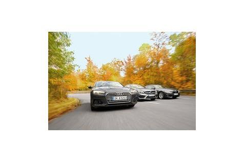 A5, 4er, C-Klasse imVergleich: Ist der neue Audi A5besser?