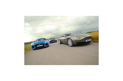 M6 gegen DB11 undF-Type: Wer ist GT und werSportwagen?