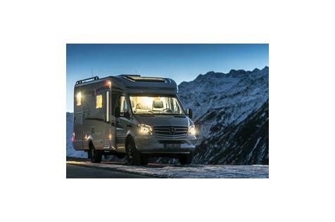 Hymer ML-T 580 4x4 Wohnmobil: Wintercamping mit Stern