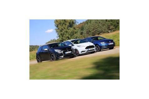 Kampf der kleinenSportwagen: Polo, Fiesta & DS 3 mit 200PS