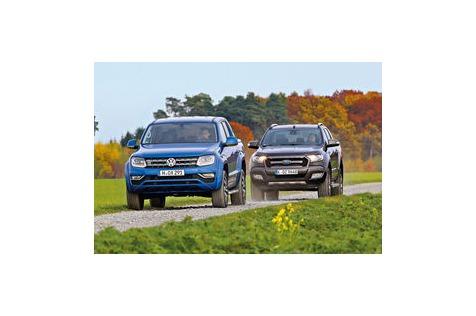 Ford Ranger vs. VWAmarok: V6-Diesel-Pickups imVergleich