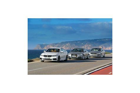 BMW 530d, Audi A6, Volvo S90 im ersten Vergleich: Oberklasse-Limousinen mit Diesel