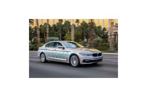 BMW 5er (CES 2017) mit Personal CoPilot: Testfahrt im ersten autonomen 5er