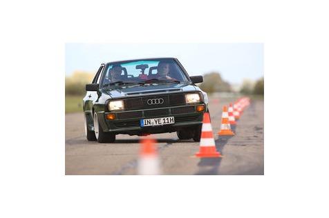 Audi Sport Quattro von 1983 im Test: Walter Röhrls Dienstwagen muss zum Nachsitzen