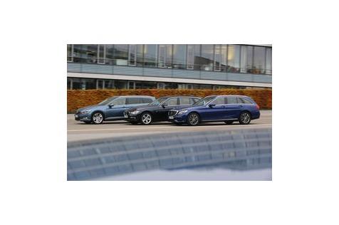 Mittelklasse-Kombis mit Allrad: BMW, Mercedes oder doch VW?