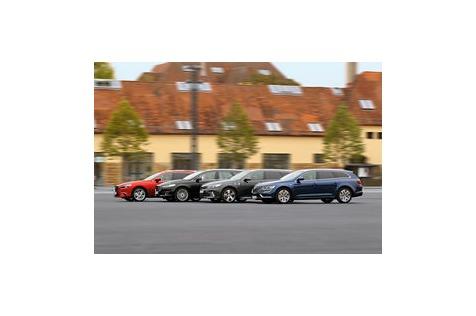 Mittelklasse-Kombis im Test: Kia vs. Ford, Renault, Mazda