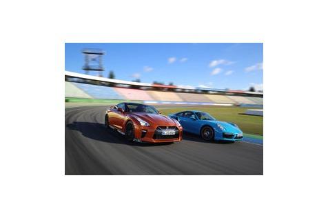 Nissan GT-R vs. Porsche 911 Turbo: GT-R geht im Test baden