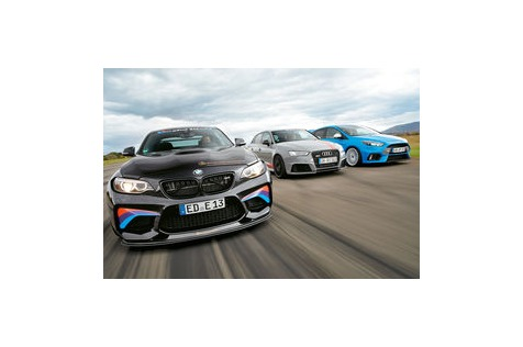 RS3, BMW M2, Focus RS: Getunte Kompakt-Raketen