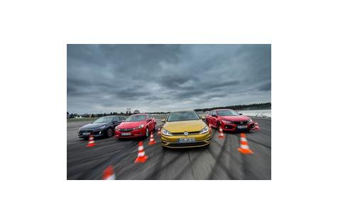 Civic, i30, Astra und Golf: Mit Facelift an die Spitze?