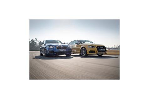 Test von Audi S3 & BMW M140i: Seriensieger muss sich sputen