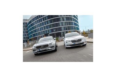 Skoda Superb trifft VolvoS90: Alternativen zurOberklasse