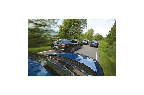 S6, M550i, GS F, Panamera4S: Business-Sportwagen mit über 440PS