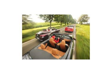 Cabrios mit über 300 PS imTest: Wer setzt sich an dieSpitze?