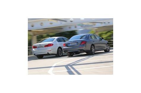 Hybrid-Duell: BMW vs.Mercedes: Luxus mitSparverbrauch?