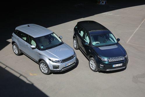 Englische SUV imTest: Evoque oder DiscoverySport?