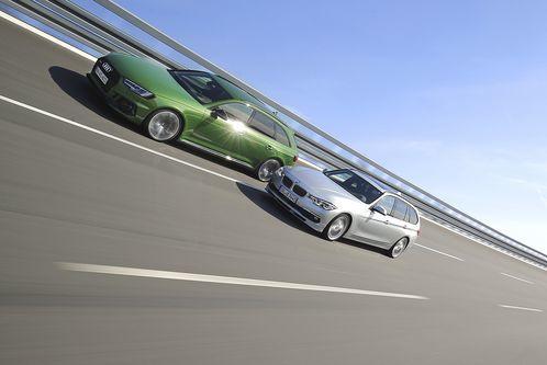 Audi RS 4 vs. BMW Alpina B3S: Power-Kombis imVergleich