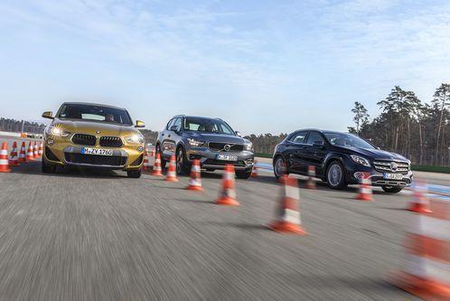 BMW X2, Mercedes GLA und VolvoXC40: Welcher ist der besteSUV?