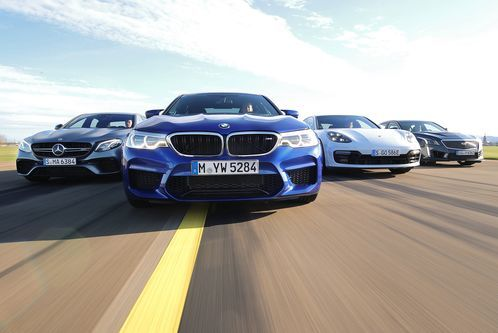 M5, E63, CTS-V, Panamera: 600-PS-Club im Test