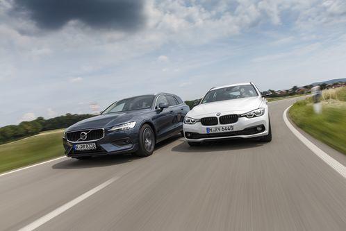 320d Touring und Volvo V60D4: Kombis mit Diesel imTest