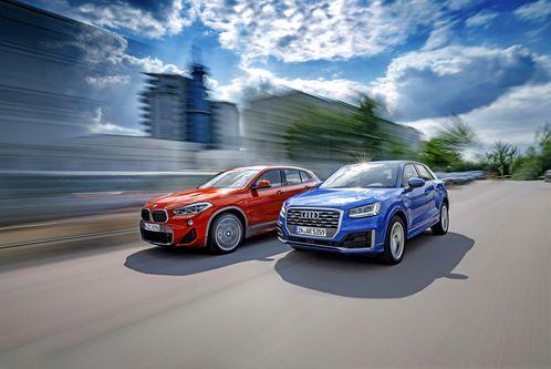 Audi Q2 und BMW X2 imTest: Mehr als nur imTrend?