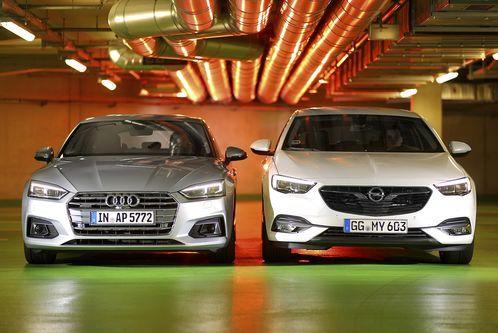 Audi A5 gegen OpelInsignia: Muss es der Teuresein?