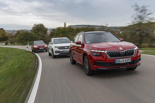 Seat Arona, Skoda Kamiq, VW T-Cross: SUV-Dreikampf unter Brüdern