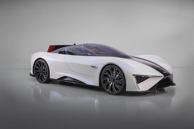Techrules Ren Serienversion - Hypercar mit Jeansstoff