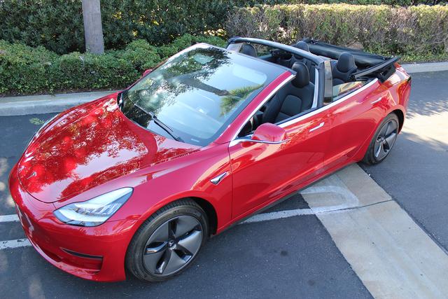 Tesla Model 3 Cabriolet - Sonnenstromer