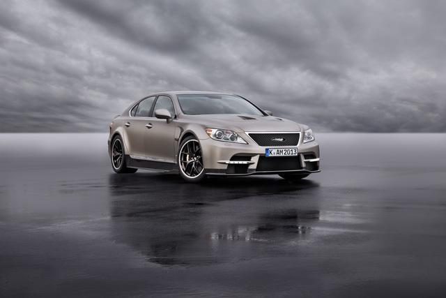TMG Sports 650 Concept - Lexus zielt auf AMG