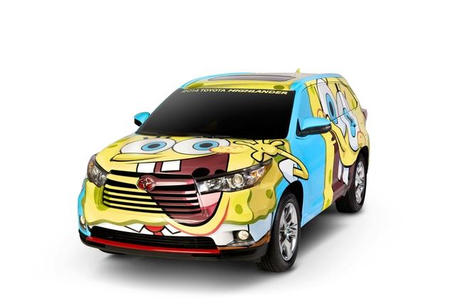 Toyota Highlander Spongebob-Edition - Eltern werden ihn hassen