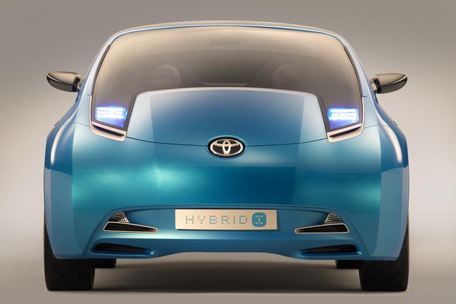 Hybrid-Van von Toyota