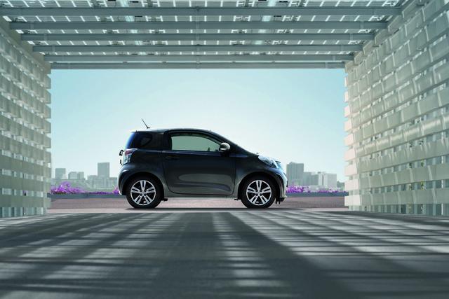 Toyota iQ: Innen nachgebessert