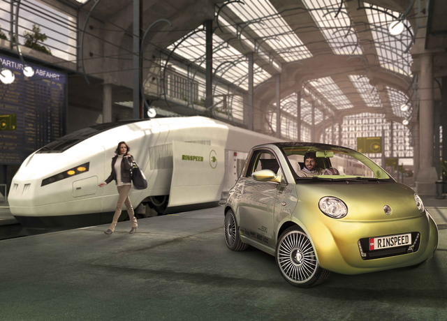 """Rinspeed """"UC?"""": Ein neues Mobilitätskonzept"""
