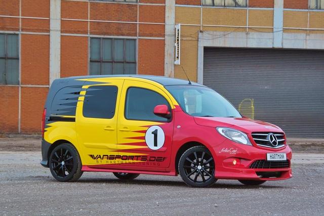 Mercedes Citan-Tuning - Schneller Stadt-Stern
