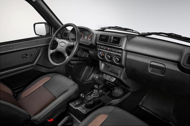 Lada 4x4 - Aufgemöbelt