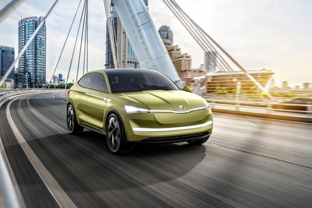 Skoda Vision E - Vorbote der elektrischen Zukunft