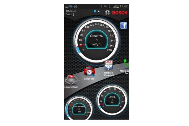 Verkehrszeichenerkennungs-App - Piepsen für das Portemonnaie
