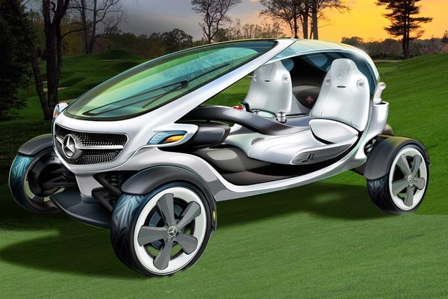 Mercedes Vision Golf Cart - Zurück zu den Graswurzeln